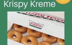 Tuesday = Krispy Kreme