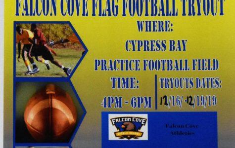 Boys Flag Football Tryouts