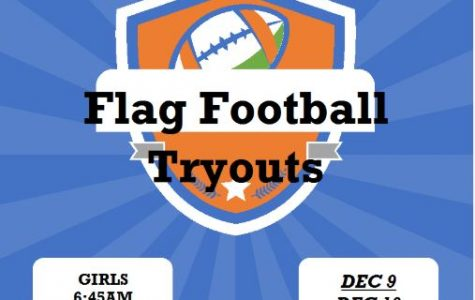 Girls Flag Football Tryouts