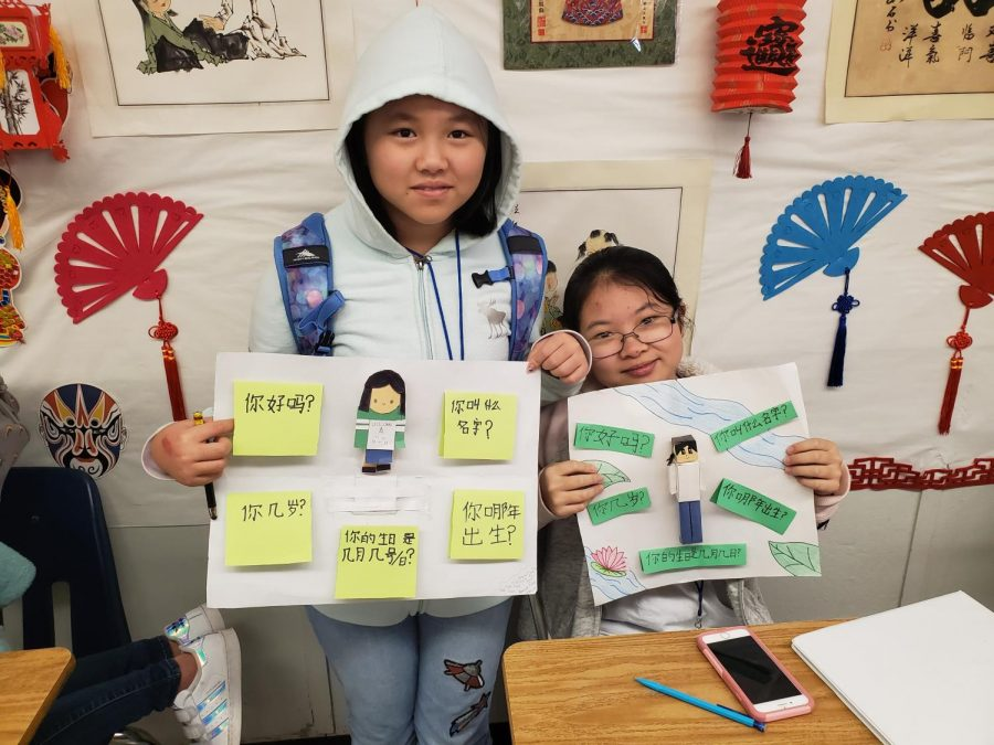 3-D Self-Introduction Projects by Chinese 1