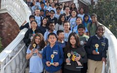 Falcon Cove's Math Team at American Heritage Competition