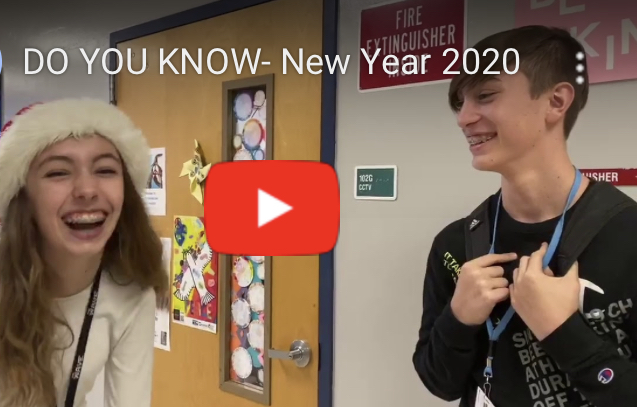 Do You Know? New Year's Edition