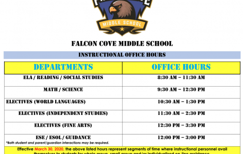 Teachers' Office Hours During Online Learning