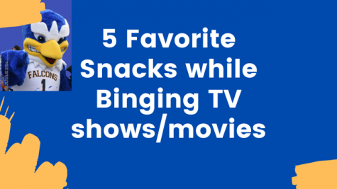 5 Favorite Snacks while Binging TV shows/movies