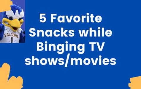 5 Favorite Snacks while Binging TV shows/movies