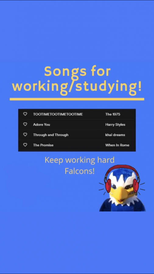 Song to listen to as you work/study!