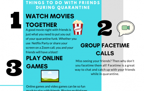 Top 3 Things To Do With Friends During Quarantine