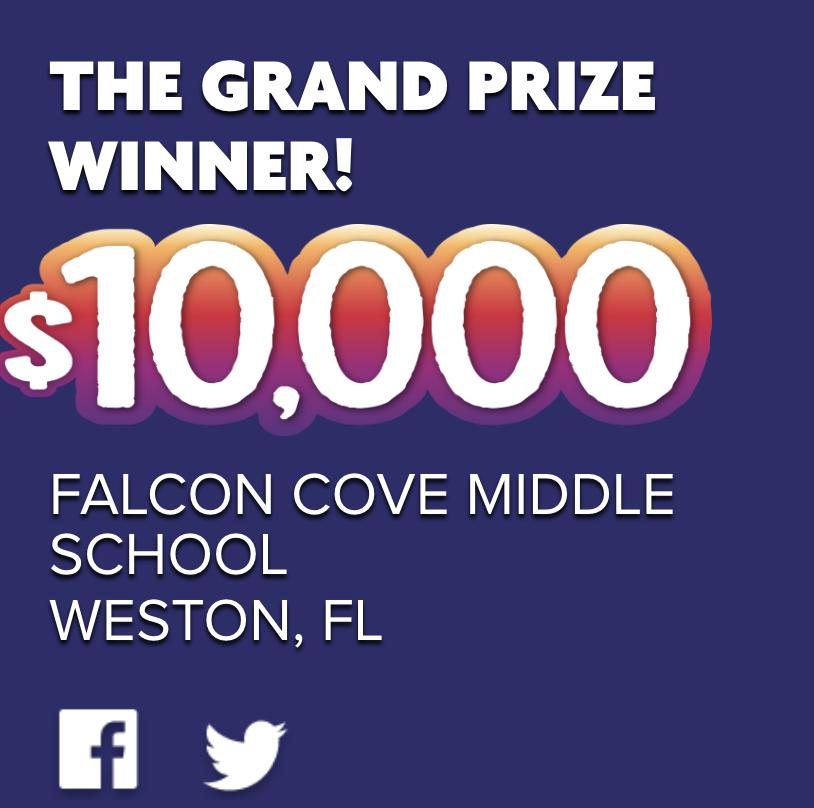 Falcon Cove Wins Frigo Cheese Head's Build a Bright Future Competition!