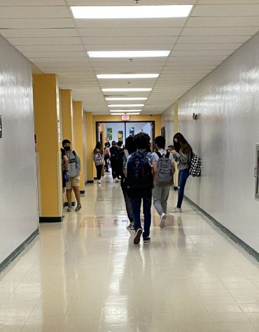Hallways have been getting busier since many students have returned to school