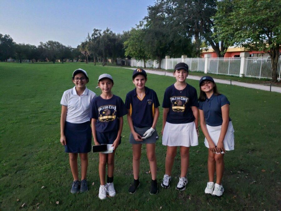 FCMS golf team!